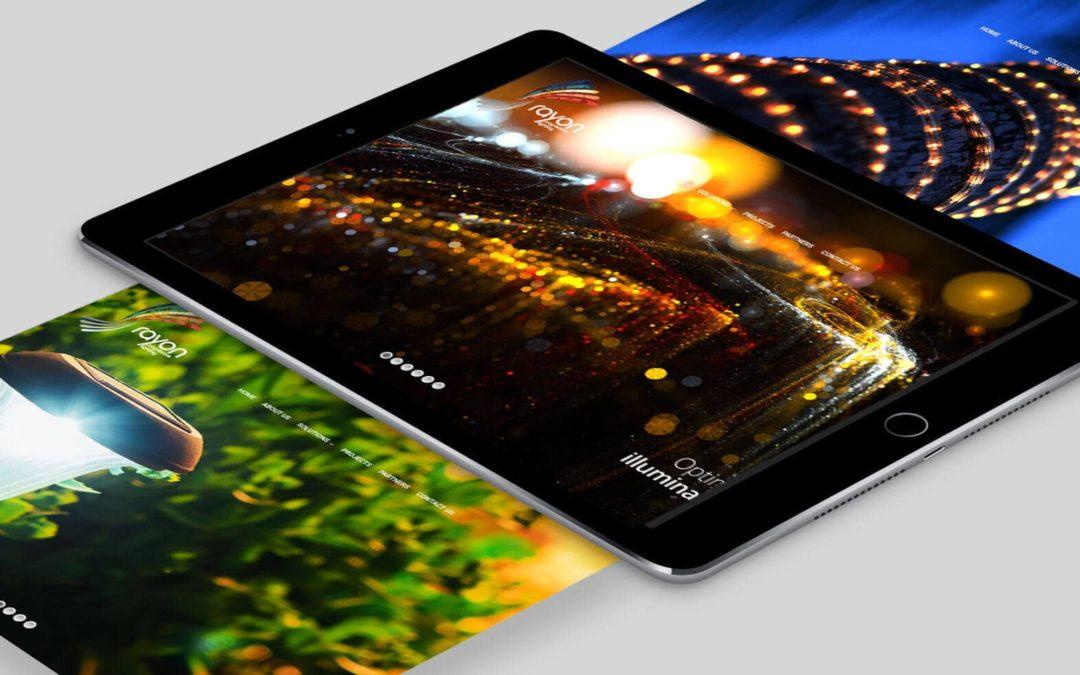 Rayon Lighting Website