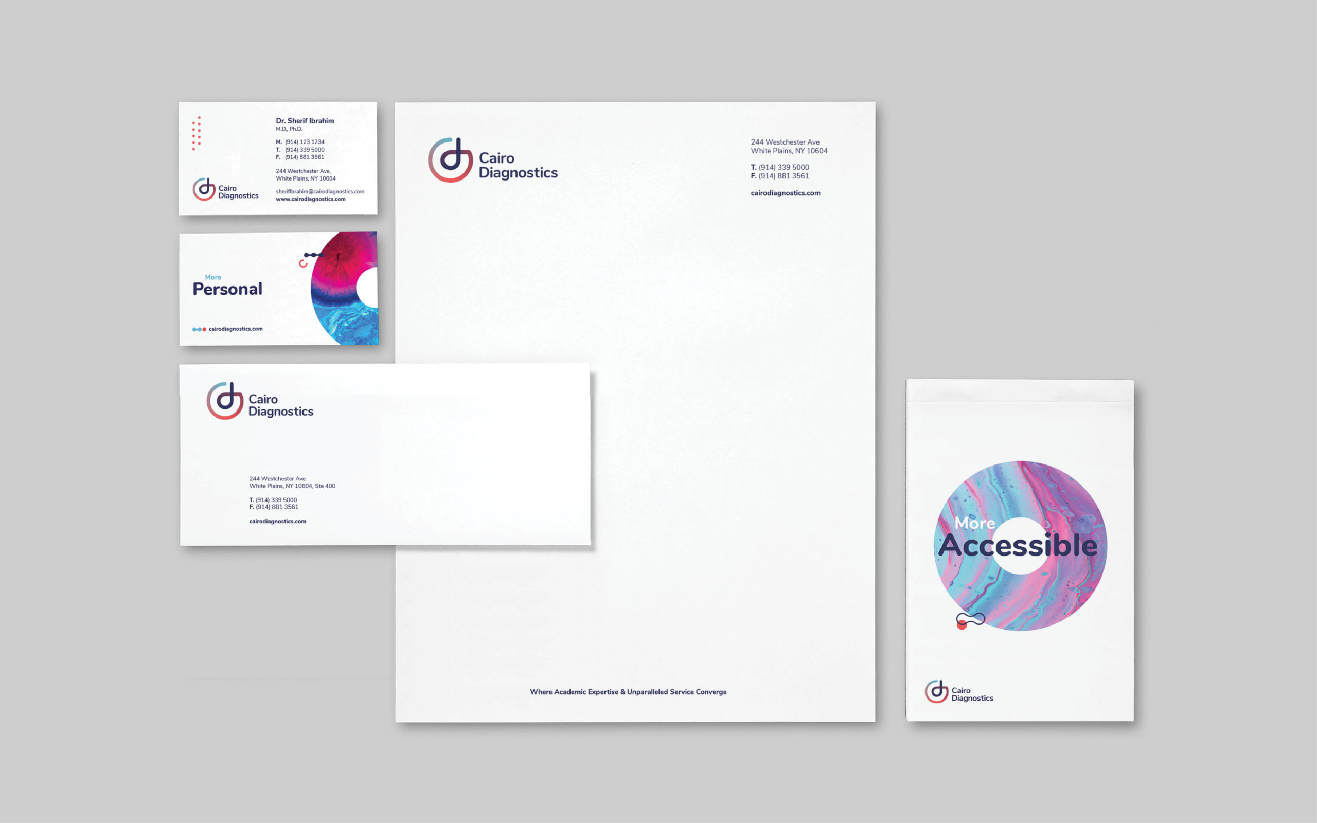 Cairo Diagnostics_Branding stationary