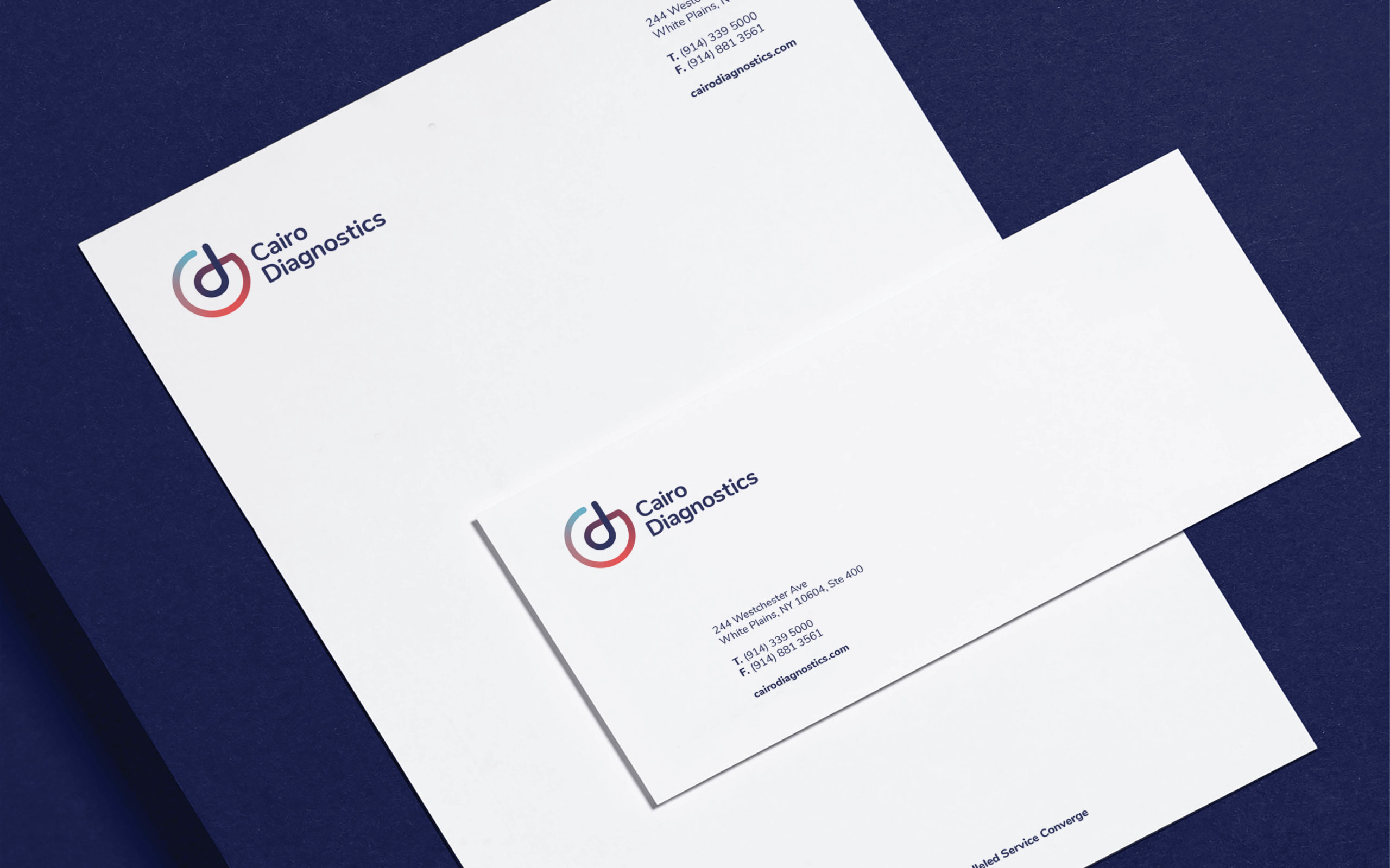 stationary Branding Letterhead envelope