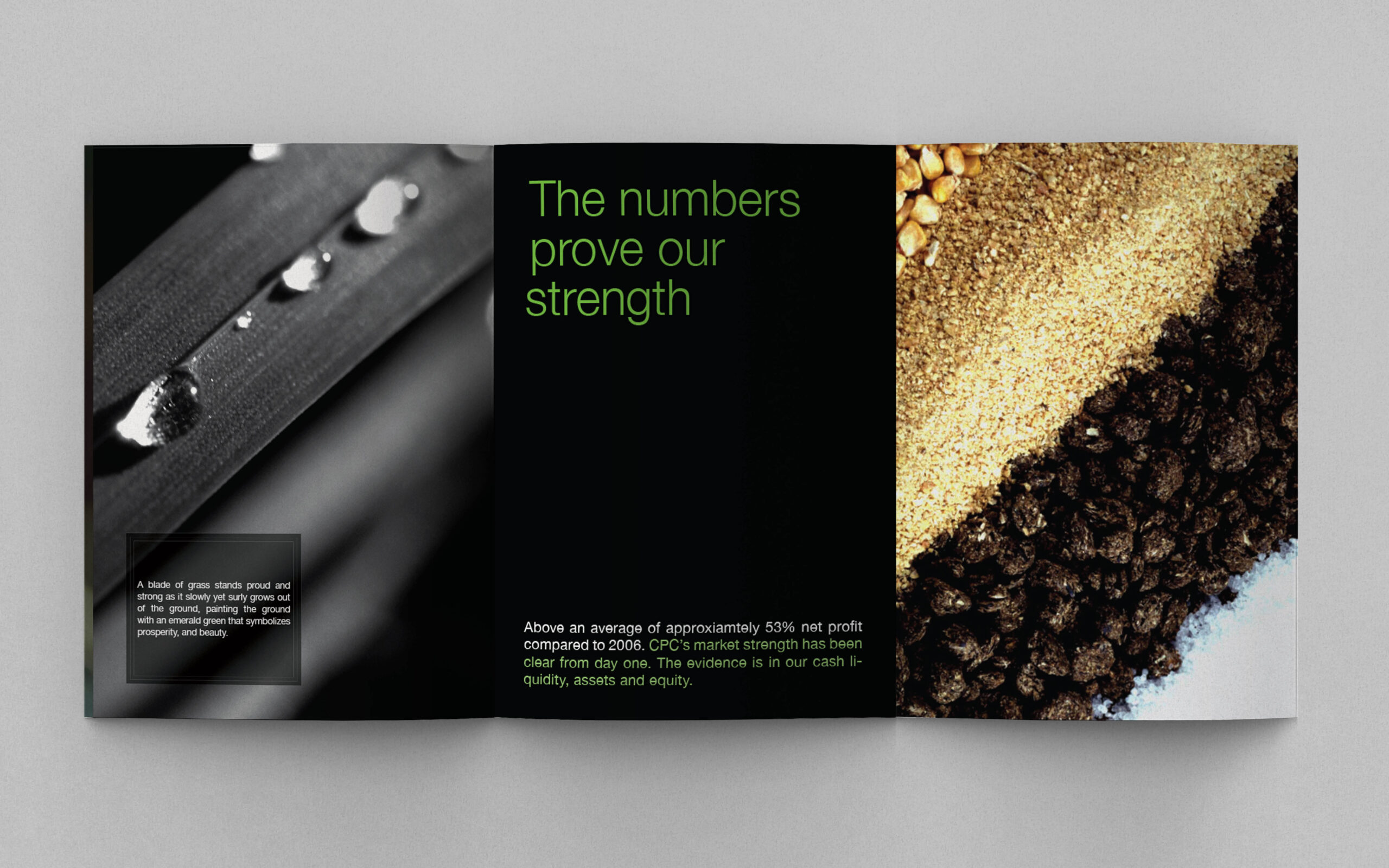 CBC creative visual annual report seeing more