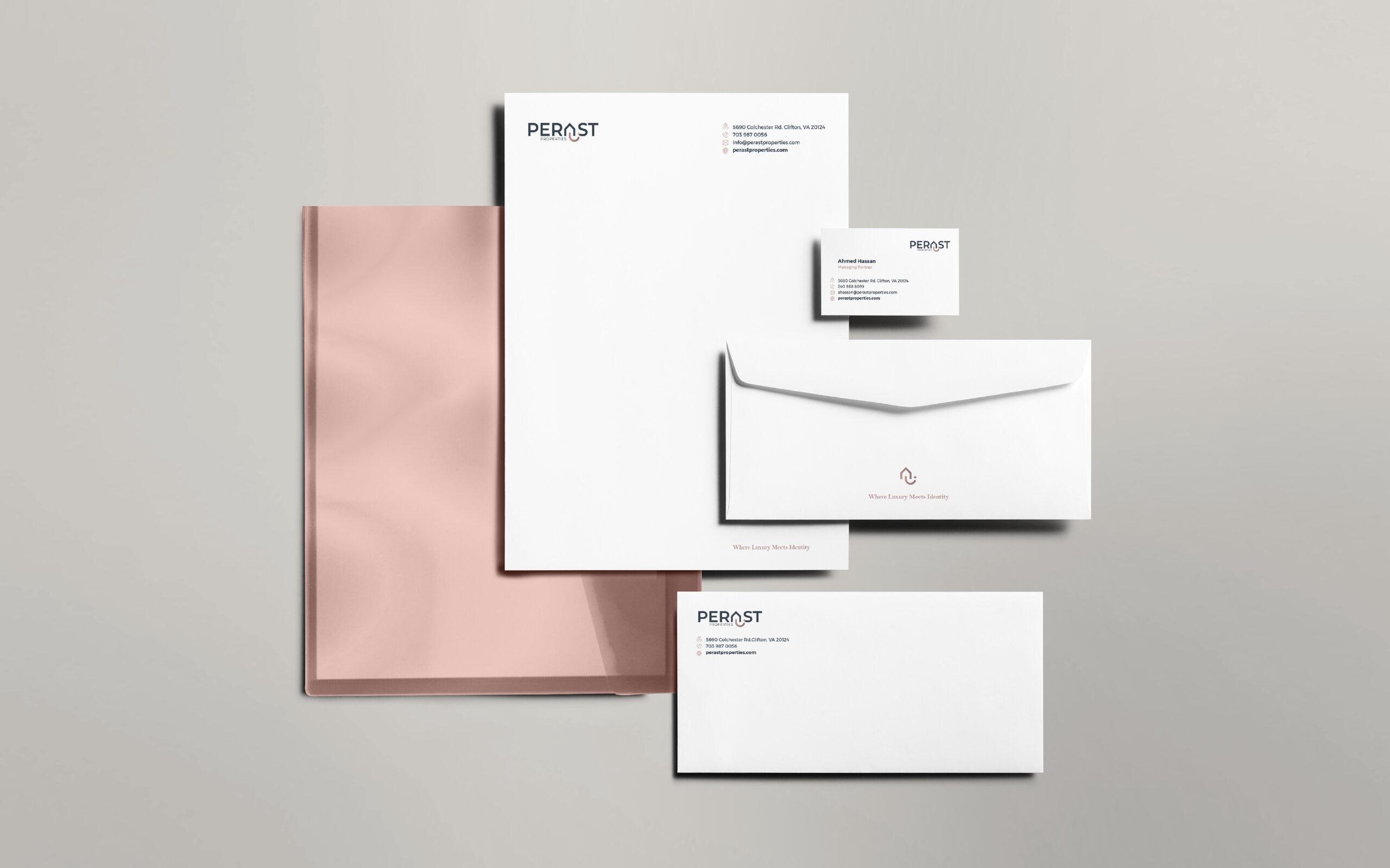 design Brochure branding logo sign