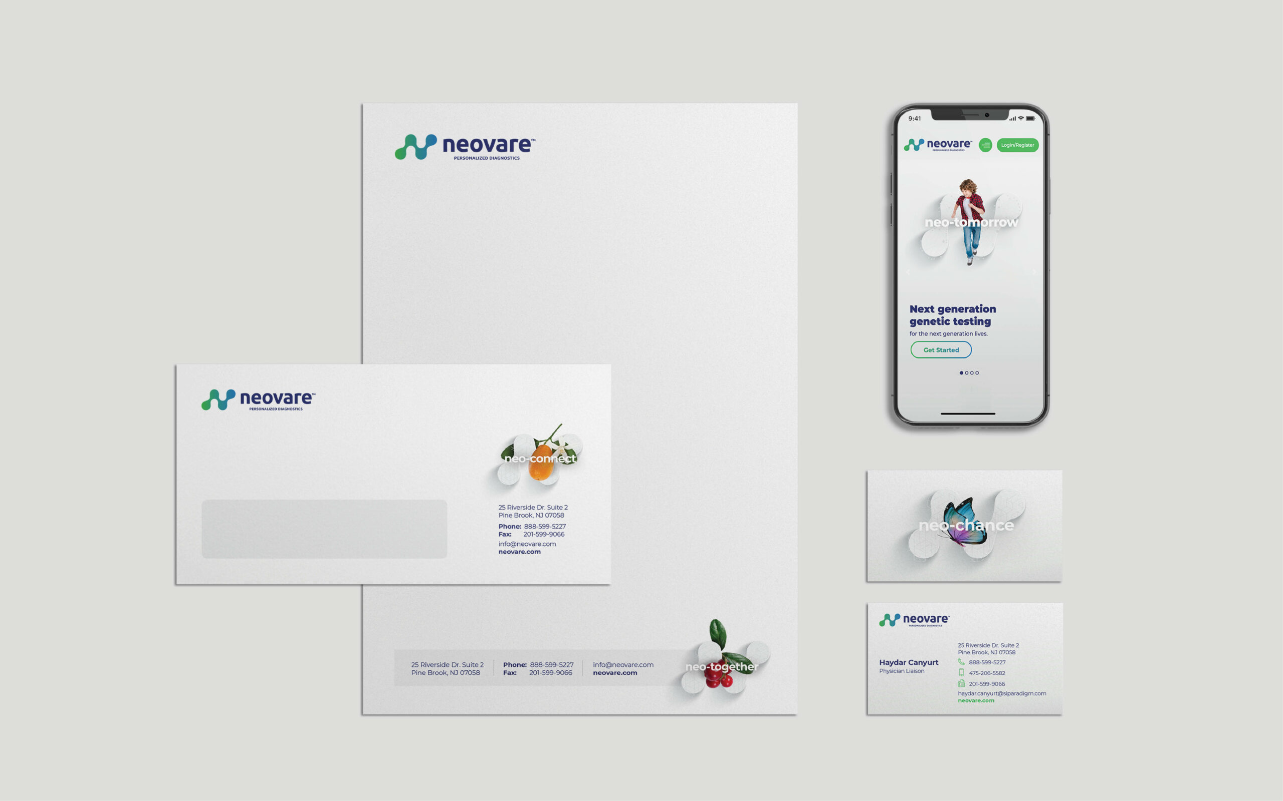 Neovare Re-branding