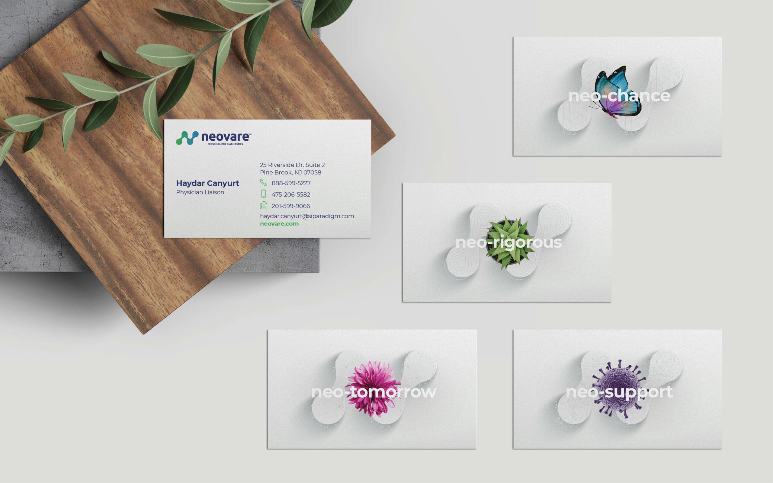Branding stationery webdesign
